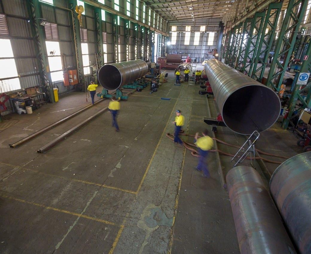 ABFI Steel Group Workshop